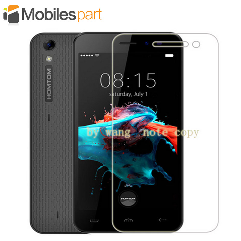 Homtom HT16 Pro Tempered Glass 9H 2.5D High Quality Explosion-proof&Scratch-proof Screen Protector film Case for Homtom HT16