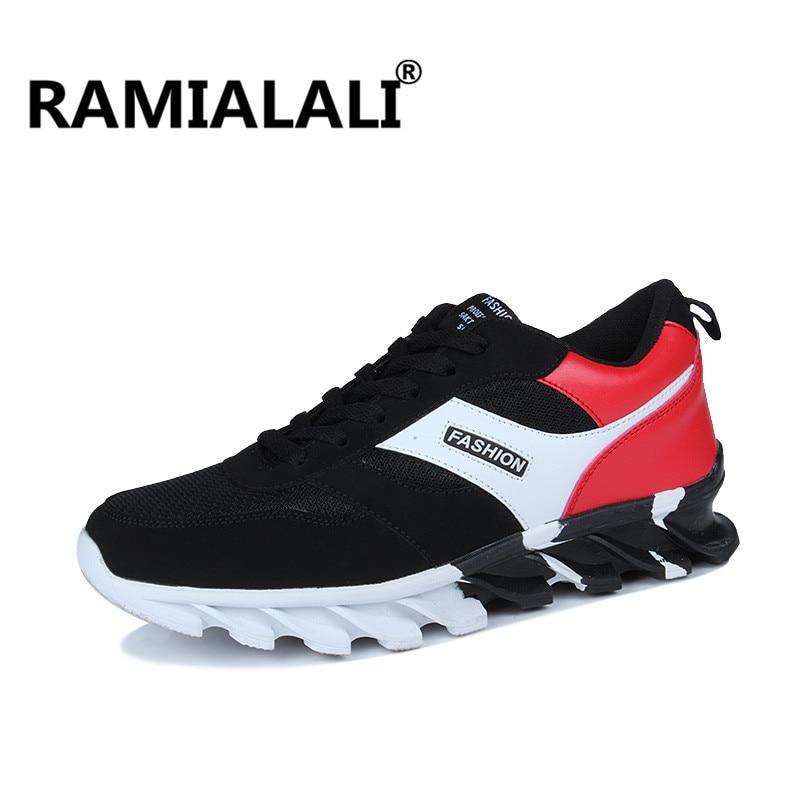 Ramialali Breathable Running Shoes Men Sneakers Sport Shoes Blade Athletic Outdoor Shoes Zapatillas Deportivas Hombre