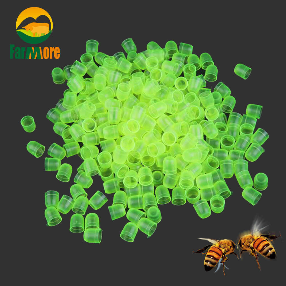 500pcs Beekeeping Queen Cell Cups Royal Jelly Cups Queen Rearing Equip New