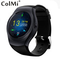 ColMi Smart Watch VS39 Sync Notifier Support SIM Card Micro SD Card Bluetooth Connectivity Android iPhone Round Dial Smartclock