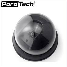 Wireless 2PCS/LOT Fake Camera battery power security Dome Dummy camera With Flash LED waterproof Outdoor Fake CCTV Camera