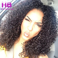 4 Pacotes Peruano Kinky Curly Virgem Cabelo 100% Não Transformados Peruano Curly Cabelo Humano Tece 7A Peruano Afro Kinky Curly Hair