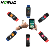 HORUG Smartband חכם פעילות Tracker פעילות צמיד Smartband כושר צמיד כושר Tracker אלקטרוני בריאות צג