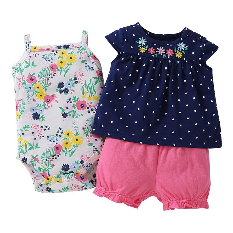 Set + 1 Vestidos Romperkids Para Ropa de Niñas Patrones Set Baby - Ropa de bebé