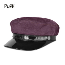 Pudi HL824 mans genuine sheep leather baseball cap 2018 brand new real lerther student trucker sport caps цена
