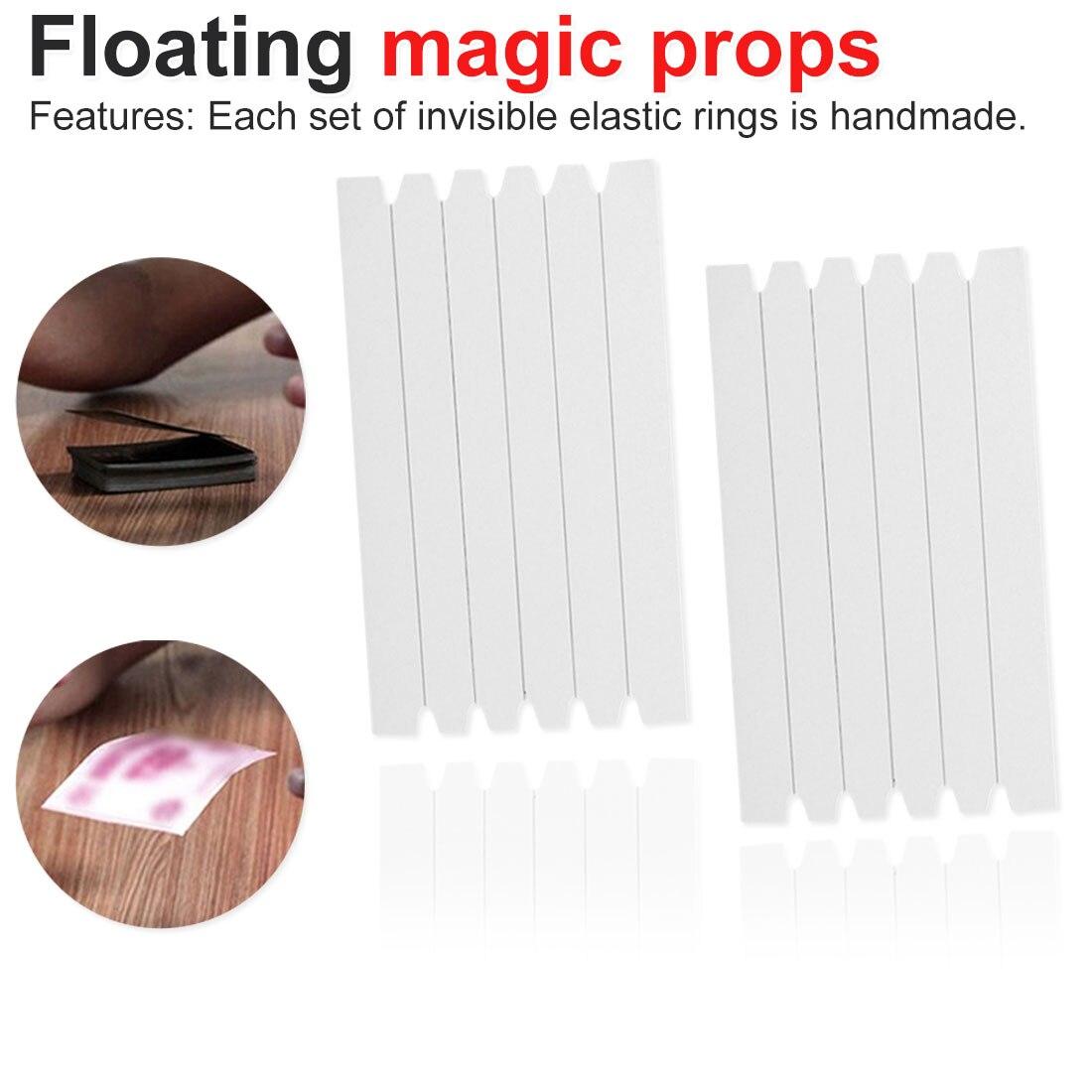 Invisible Line Hidden Coil Thread Loops Haunted Magic Trick Float Magic Secret Magic Performing Props Funny Stretch