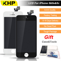2017 100 Original KHP AAAA Screen LCD For IPhone 5 5s 5c Screen LCD Replacement Display