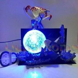 Naruto Minato del Obito Rasengan luz Led escena Anime Naruto Shippuden Anime-dibujos Led noche luces Uchiha Obito de escritorio decorativa bombilla de lámpara