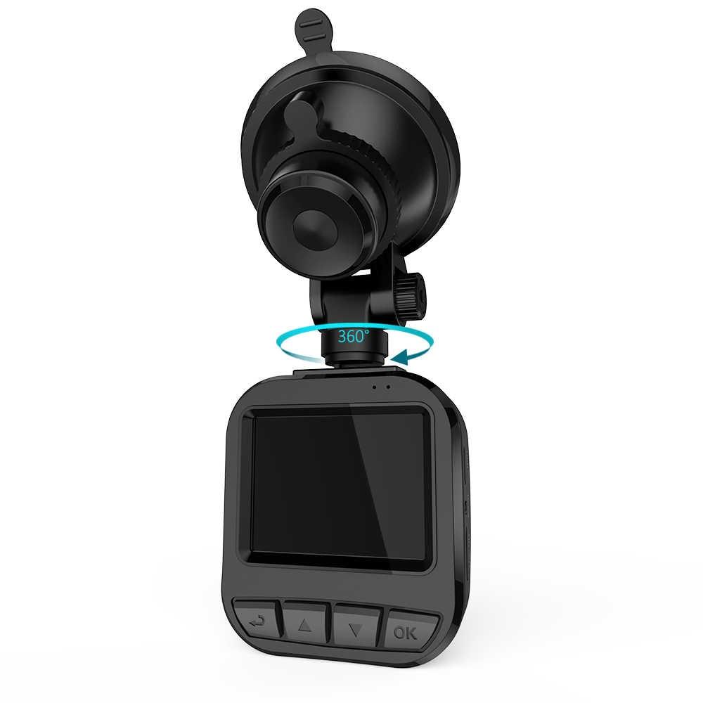 "Cámara DVR para coche 2 ""TFT LCD Super HD 1296P 16MP cámara de vídeo cámara de salpicadero gran angular con Monitor de estacionamiento HDR visión nocturna"