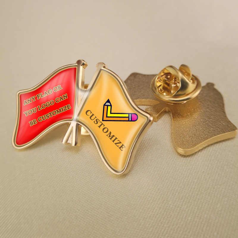 UK /& JAMAICA FRIENDSHIP Flag Metal Lapel Pin Badge Great Britain