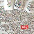 All Sizes Glitter Clear Crytals AB Nail Rhinestones Flatback Acrylic Non Hotfix Rhinestone For 3D Beauty Nails Decorations H0070