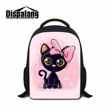 Dispalang Kids Casual Backpack Cartoon Design Girly Rucksacks Mini Bookbag for Kindergarten Pretty Back Pack for Little Girls