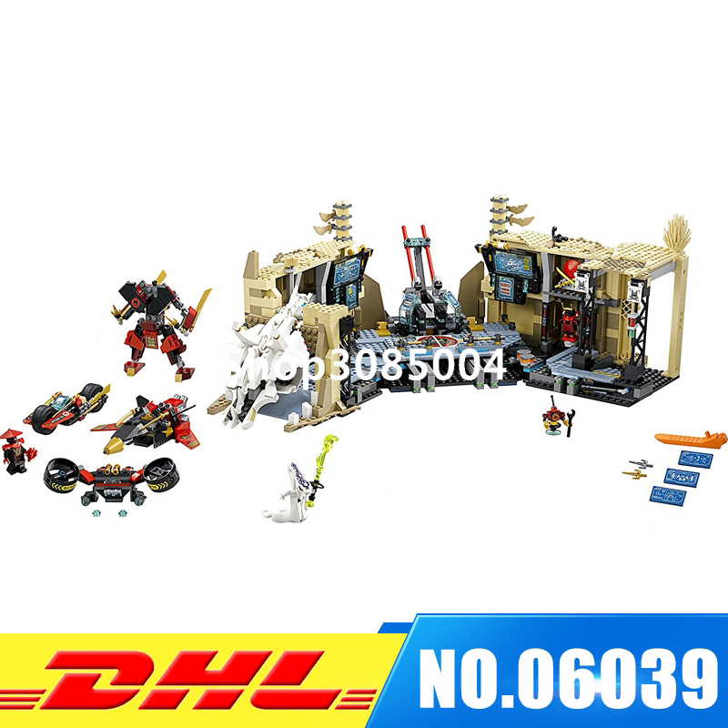LEPIN 06039 1351Pcs Phantom Samurai X Cave Chaos Model Building Kit Blocks Bricks Educational Children DIY Toys Compatible 70596 compatible with lego ninjagoes 70596 06039 blocks ninjago figure samurai x cave chaos toys for children building blocks