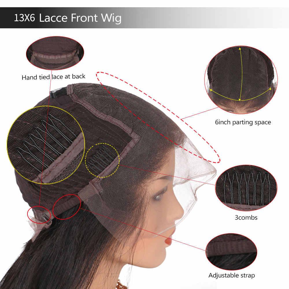Парик с волнистыми и влажными человеческими волосами, фронтальные человеческие волосы, парики с челкой, предварительно выщипанные кружевные парики с детскими волосами