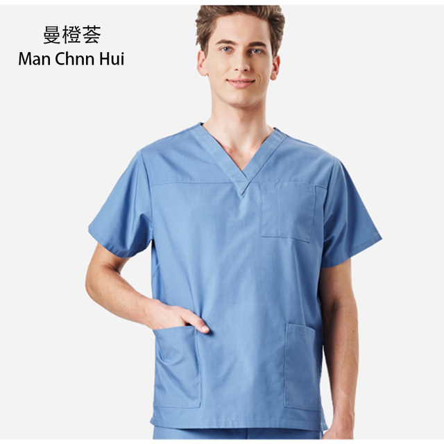 6d7bd6b2468 Medical Uniforms Male Doctor's Suit Multicolor Lab Surgery Scrub Set Pet Hospital  Dental Beauty Nurse Stylish beautiful Overalls