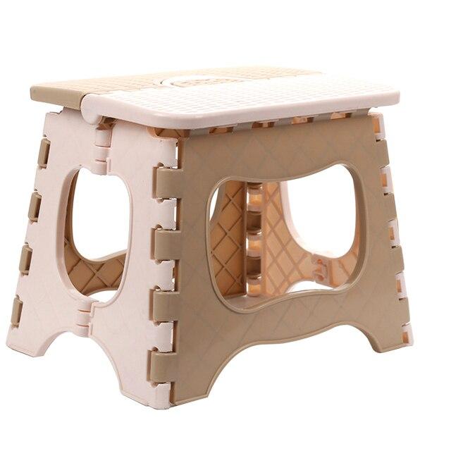 Складной шаговый стул детский табурет портативный складной пластиковый Маленький стул для детей взрослых на открытом воздухе Кухня Ванная комната