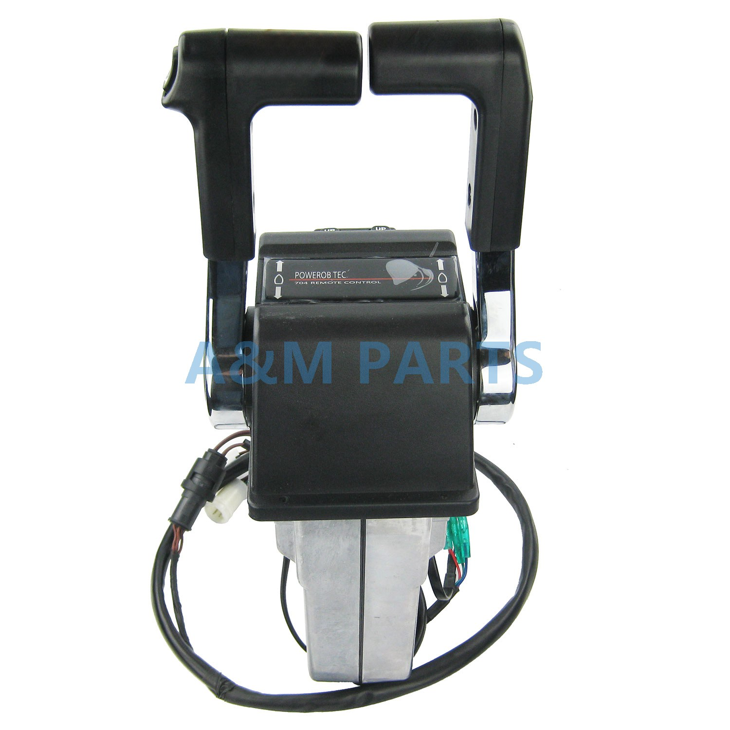 Oem Outboard Engine Twin Binnacle Remote Control Box Dual Top Mount Yamaha 704 Wiring Diagram For In Marine Hardware From Automobiles Motorcycles On