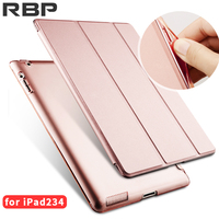RBP For IPad 2 3 4 Case Soft Leather Cover For Apple IPad 4 Case For