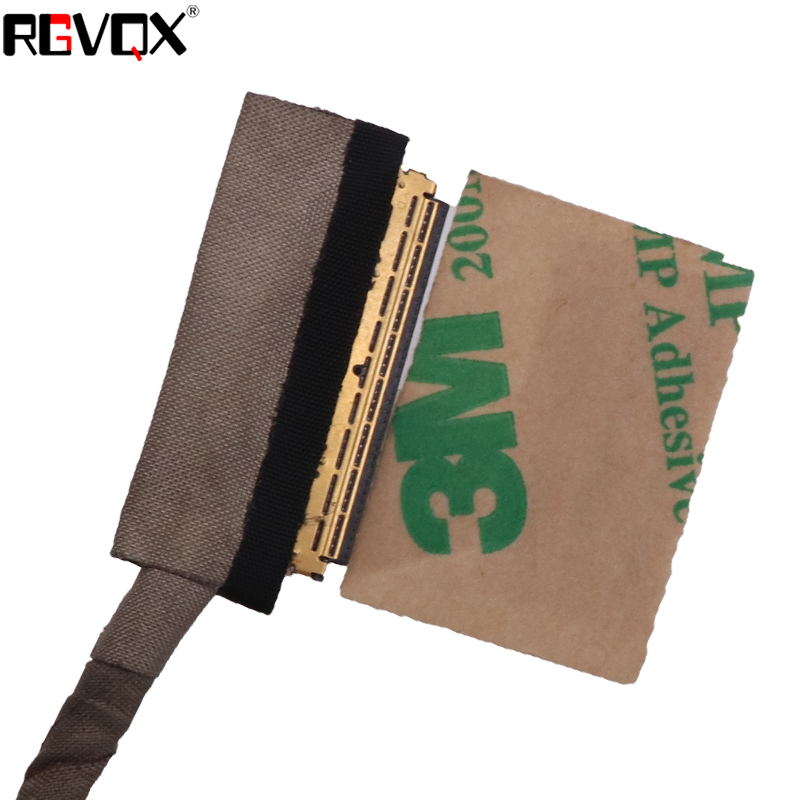 Computer Cables LCD LED Video Flex Cable for DELL Latitude 3540 E3540 3000 PN:DC02001UCOO X0H0W Replacement Repair Notebook LCD LVDS Cable Cable Length Shows