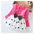 The new year children's clothing girls summer clothing dress 1 - 4 year old girl fashion clothes 2016 fashion dress hot sale