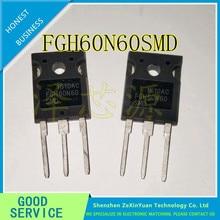 10PCS/LOT FGH60N60SMD FGH60N60 IGBT 600V 120A 600W TO-247