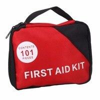 101 unids Médico Botiquín de Primeros Auxilios Bolsa de Supervivencia de Emergencia kit de Supervivencia Bolsa de Emergencia del Coche para El Hogar Al Aire Libre Que Acampa Que Viaja