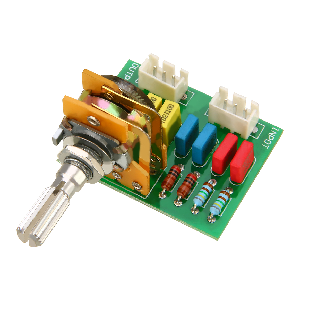 Mayitr Amplifier/Preamp Passive Tone Board Volume Control Sound Adjustable 16-type 50K 8-pin Passive Potentiometer Module