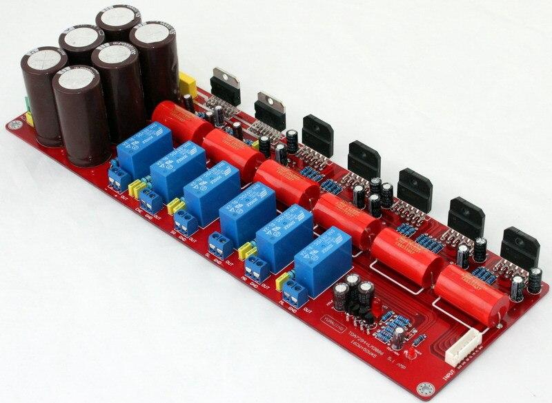 Free Shipping  TDA7294+LM3886  5.1 Channels AV Amplifier Board Stereo