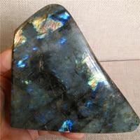 natural labradorite quartz crystal specimen