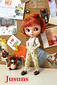 BJD doll clothes Japan doll clothes AZONE doll suits Free shipping
