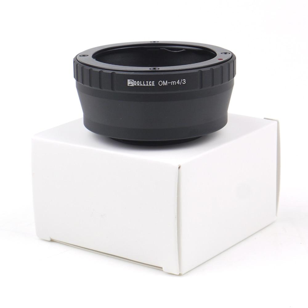 Adaptadores para objetivos para Olympus om lente a micro cuatro tercios 4/3 M4/3 Cámara gx8 G7 gf7 gh4 GM1 gx7 gf6 GH3 G5 gf5 om-d e-m10 II