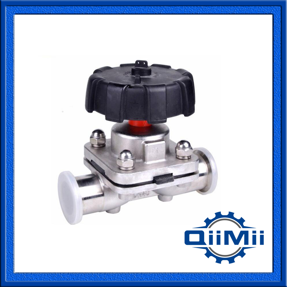 1 -2 SS316L Sanitary Stainless Steel Clamp Diaphragm Valve EPDM+PTFE new style45mm 1 3 4 sanitary fitting diaphragm valve clamp type stainless steel ss sus 316