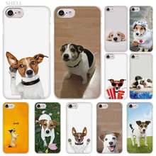 PlusJack Russell Terrier Cão moda do Caso da Tampa transparente para o iphone XI R 2019 Max XR XS X 4S 5S SE 7 8 6 6s Plus(China)