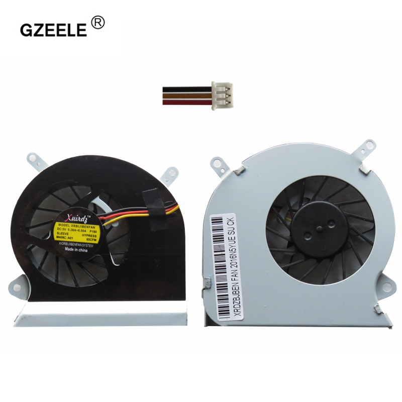 GZEELE CPU Cooling Fan fit For MSI GE60 16GA 16GC series notebook PAAD06015SL 0.55A 5VDC 3pin laptop CPU Cooling Fan coole 100% brand new cpu cooling fan for msi hd7750 graphics card fan pla09215b12m
