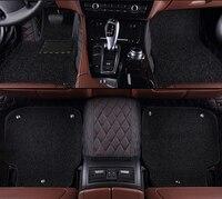 kalaisike Custom car floor mats for Lincoln all models Navigator MKC MKX MKT MKZ MKS car accessories auto styling