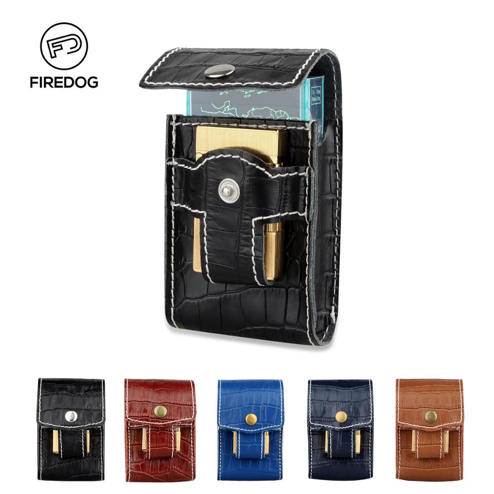 Woman/Men Crocodile Pattern Leather Cigarette Case Wallet ,With Lighter Holder Waist Belt Loop Cigarette Case Box