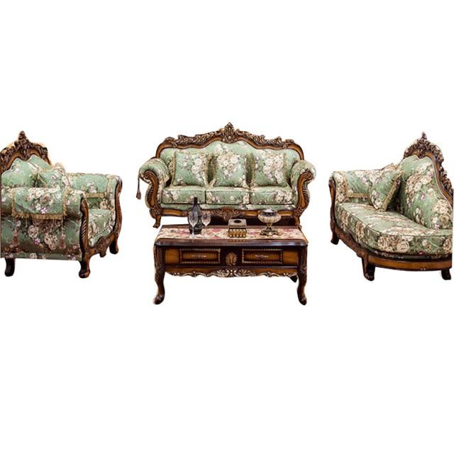 European Simple Fabric Sofa 1 3 Royal Bit Combination Of Large Size Living
