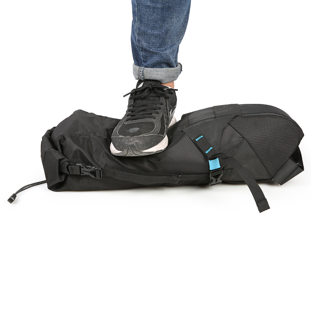 Roswheel Waterproof Sepeda Tas Sadel Keranjang Beban Bersepeda Mtb Jalan Tail Bag Kursi Adjustable 3l 10l Di Pannier Dari
