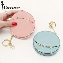 CITY LIGHT Women coin Purse Women cute cat zipper multi functional mini coin bag key cases small wallet
