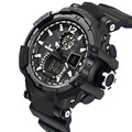 Fabulous hot sale fashion Men's Rubber Band LED Digital Sports Waterproof Diving Quartz Wrist Watch erkek kol saat #18