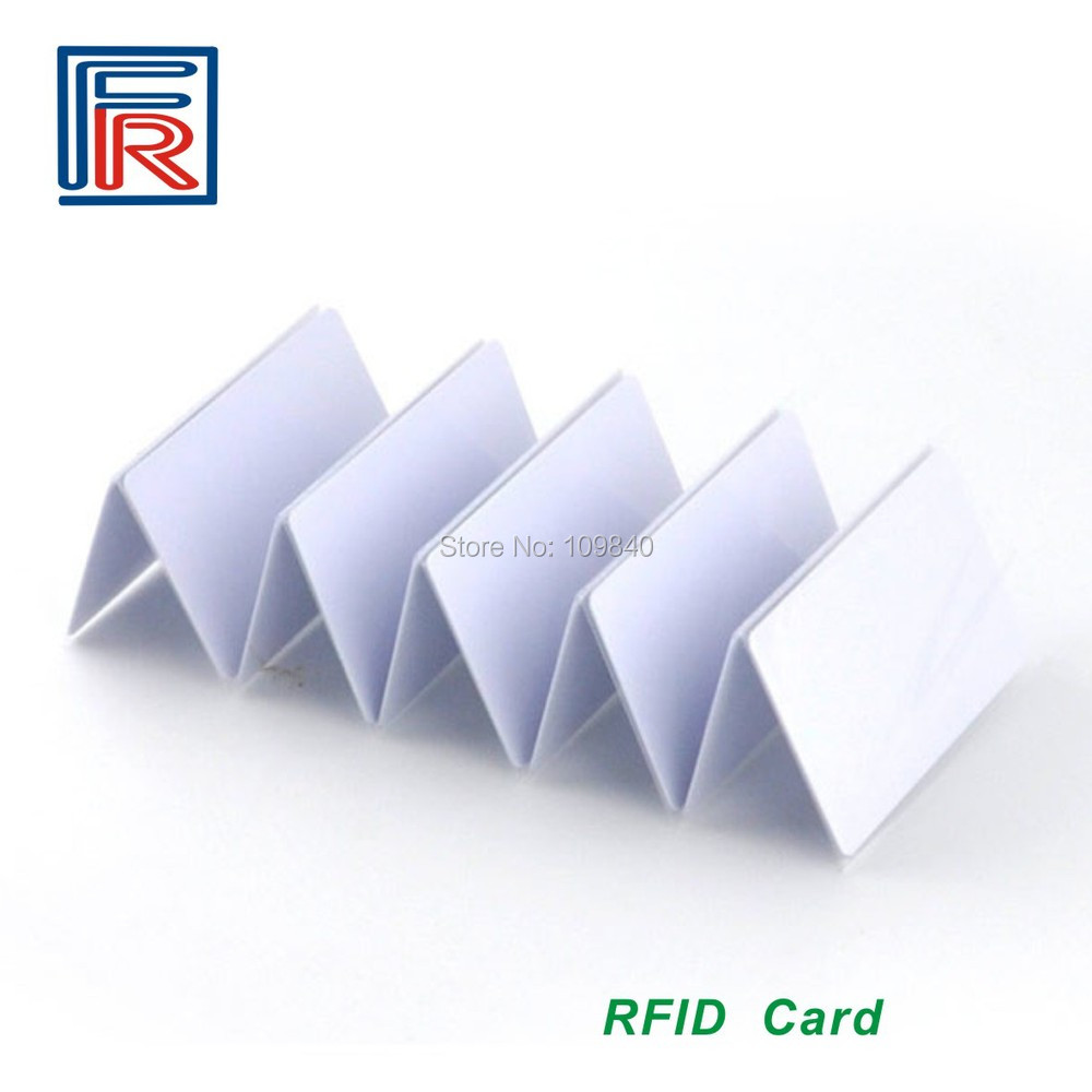 100pcs ISO Double Frequency UHF+HF Passive Long Distance PVC Blank RFID card iso 100 в перми