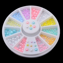 Mix Size Nail Art Decoration Wheel