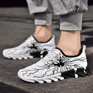 Image 4 - New Clunky Sneaker Women Shoes Thick Bottom Leisure Shoe Shoes Woman Walking Footwear Zapatillas Mujer Deportiva Plus Size 45 46