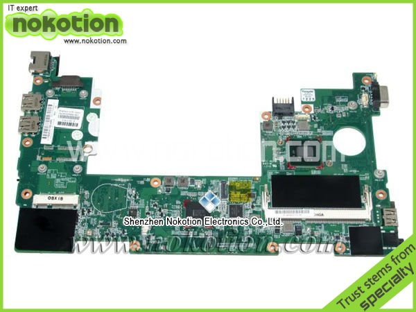 NOKOTION 630966-001 free shipping laptop motherboard for HP mini 110 Intel N455 DDR3 Full Tested nokotion 646176 001 laptop motherboard for hp cq43 intel hm55 ati hd 6370 ddr3 mainboard full tested