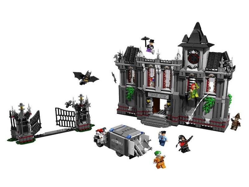 Decool 7124 배트맨 슈퍼 영웅 arkham asylum 브레이크 아웃 그림 블록 어린이를위한 건설 빌딩 완구 크리스마스 선물-에서블록부터 완구 & 취미 의  그룹 2