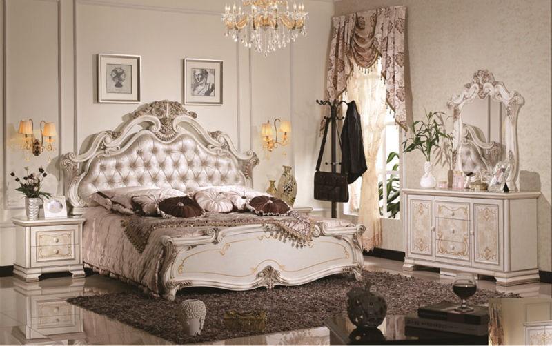 Luxury Suite Bedroom Furniture Of Europe Type Style