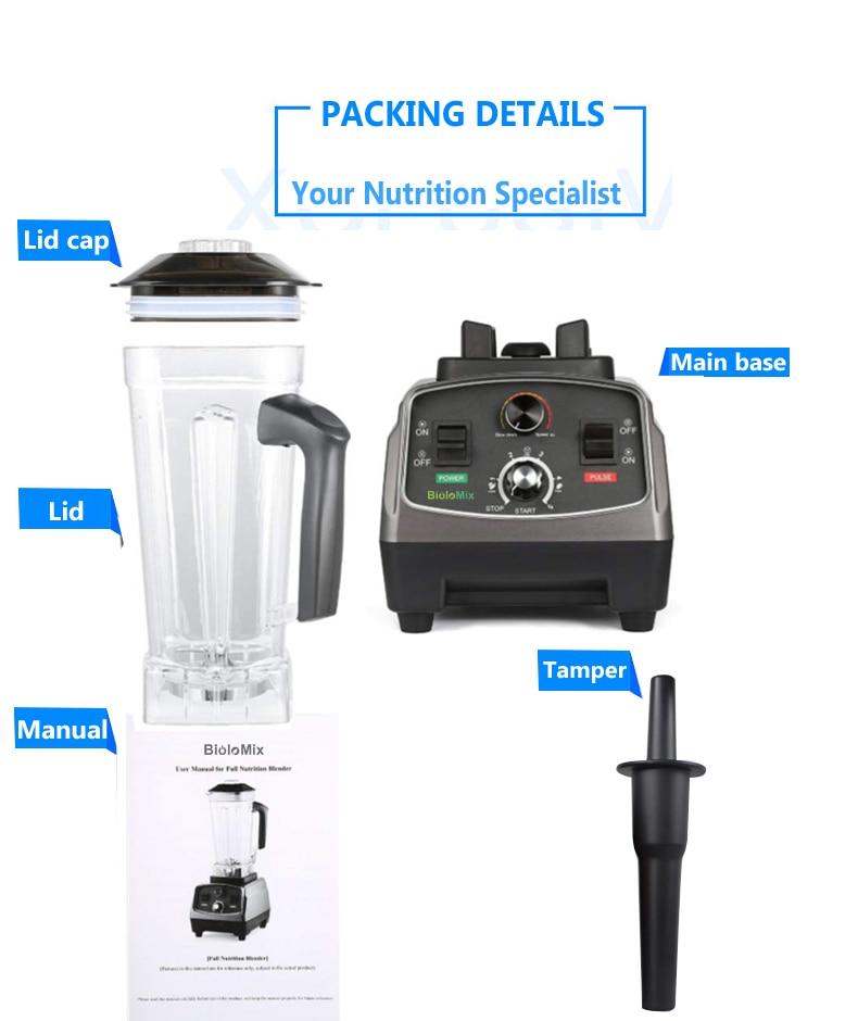 HTB16W24fFzqK1RjSZSgq6ApAVXaA 3HP 2200W Heavy Duty Commercial Grade Automatic Timer Blender Mixer Juicer Fruit Food Processor Ice Smoothies BPA Free 2L Jar
