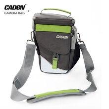 CADeN Наплечные сумки для камеры Фото Видео чехол для переноски Черный Зеленый Цифровой Мягкий Слинг Сумка с дождевиком для DSLR Canon Nikon D1