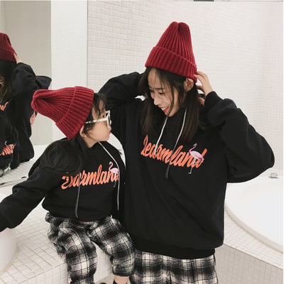 Fashion Matching Family Outfits Mother Kids Spring Autumn Ho