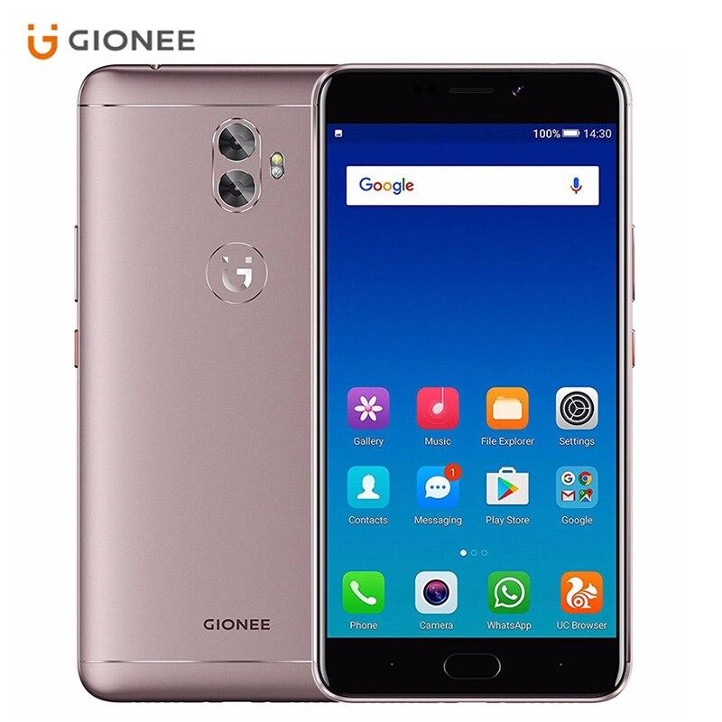 Gionee A1 Plus 4G RAM 64G ROM 6.0 inch 1080P 4550mAh Dual Sim 20.0MP Camera Octa Core Android 7.0 Fingerprint Mobile Phone
